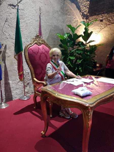 Officiante a Roma il 2 agosto 2020