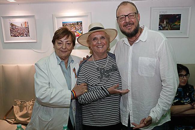 Antonello Dose con Maria Laura e Lidia - 2017