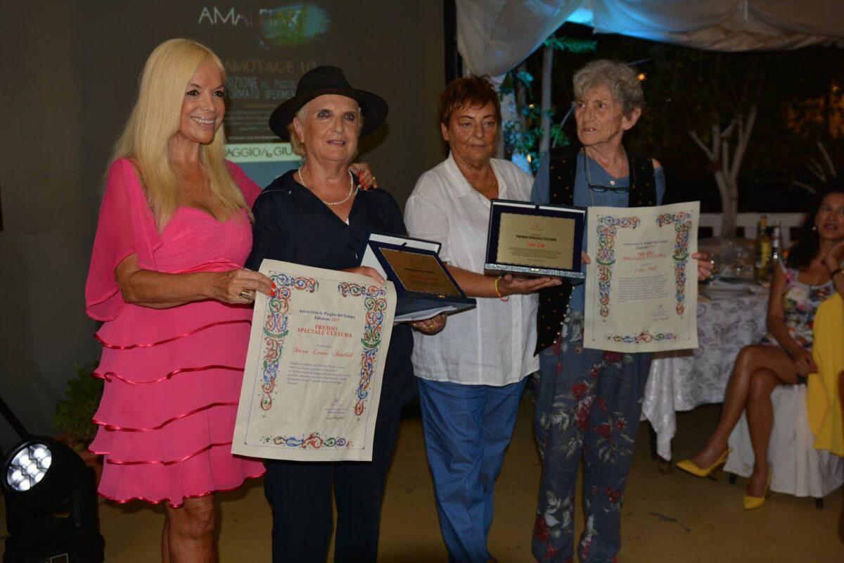 1° settembre 2017 – Anzio Premio speciale 2017 per la cultura a Maria Laura