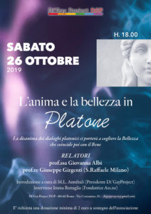 Conferenza: L'anima e la bellezza in Platone @ Di'Gay Project - DGP