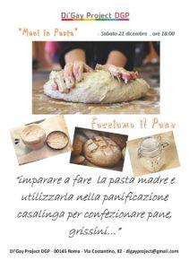 Mani in pasta - Facciamo il pane @ Di'Gay Project - DGP