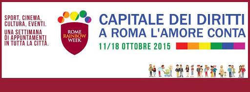 Roma – Settimana Rainbow 2015